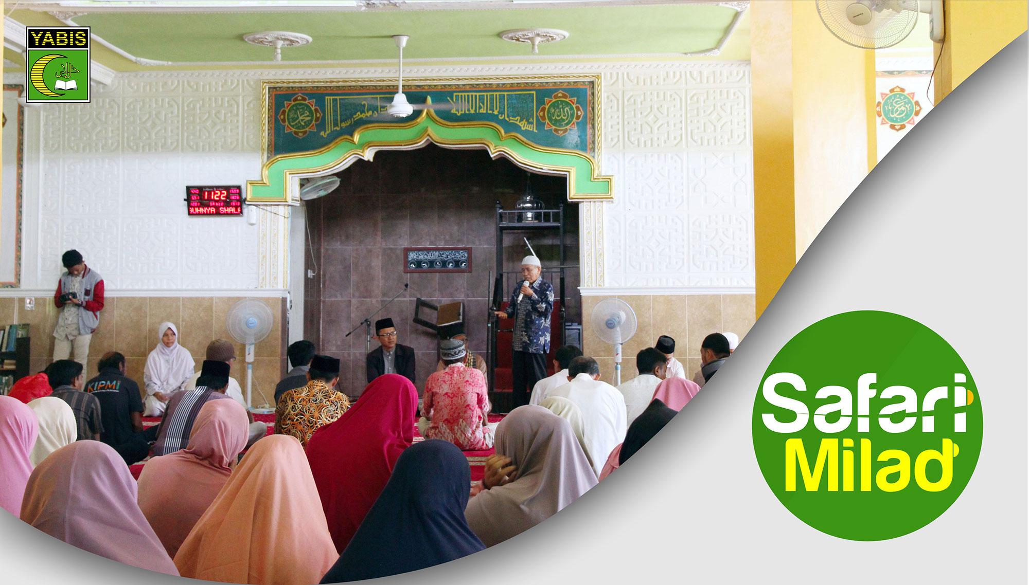Safari Milad ke-33 YABIS, Masjid Al Muttaqin