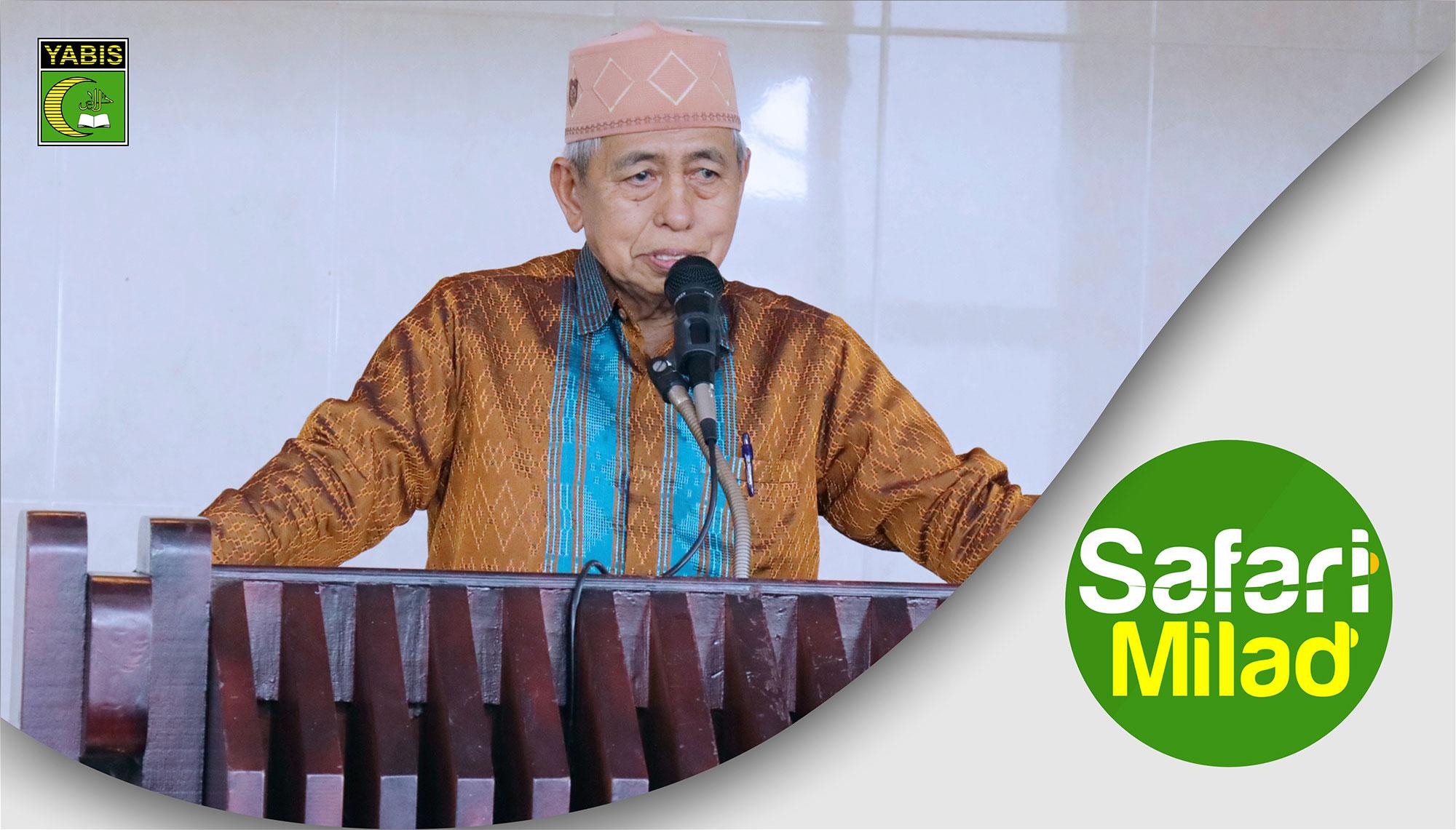 Safari Milad ke 33 di Masjid Al Falah Kanaan